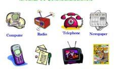 Medios de Comunicación en inglés